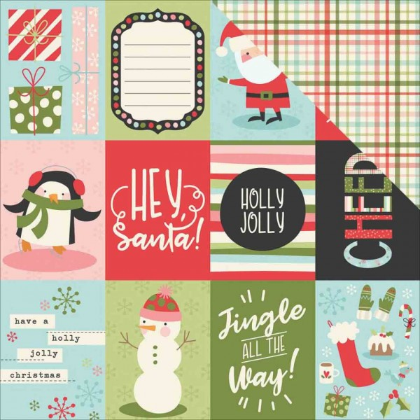 Simple Stories oh what Fun! 3 x 4 journaling card elements