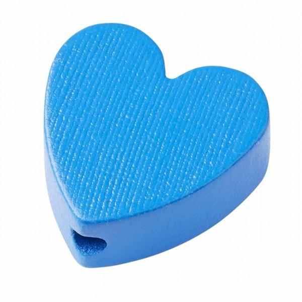 Schnulli Herz blau
