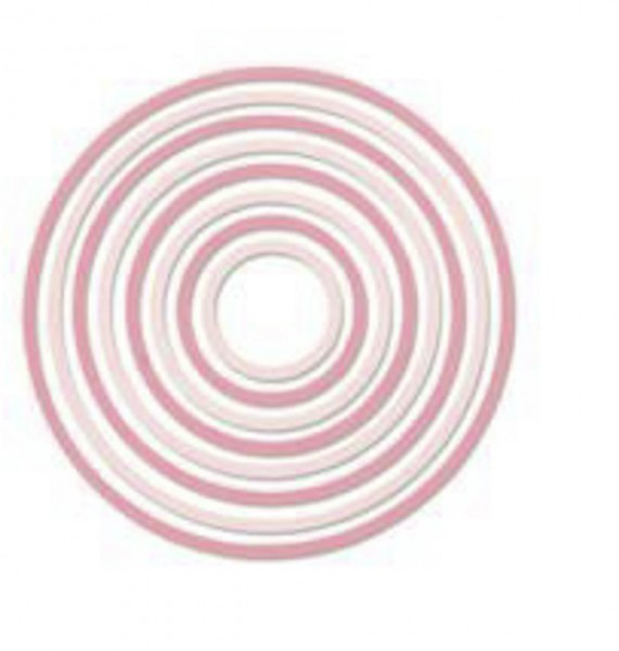 Sizzix Thinlits Die Set Concentric Circles