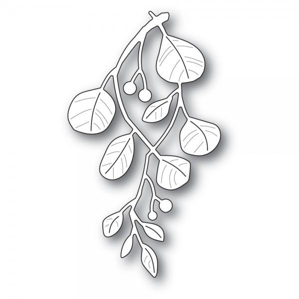 Poppystamps Stanzdie holiday mistletoe