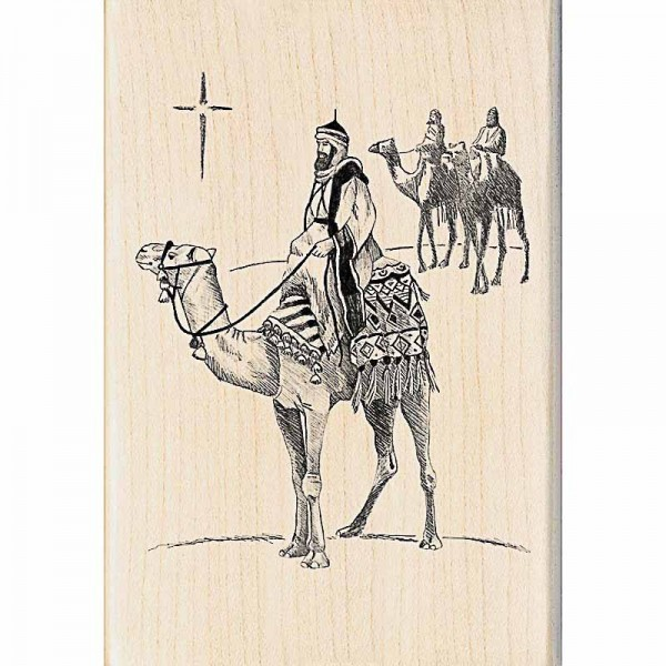 Inkadinkado Holzstempel Three Kings