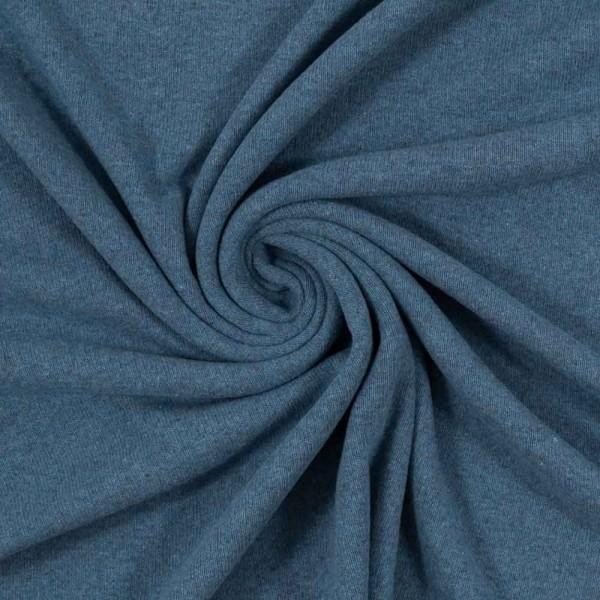 angerauter Strickstoff Bene taubenblau