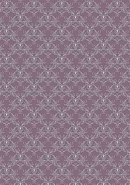 Reprint Basic Collection Swirls vintage lilac