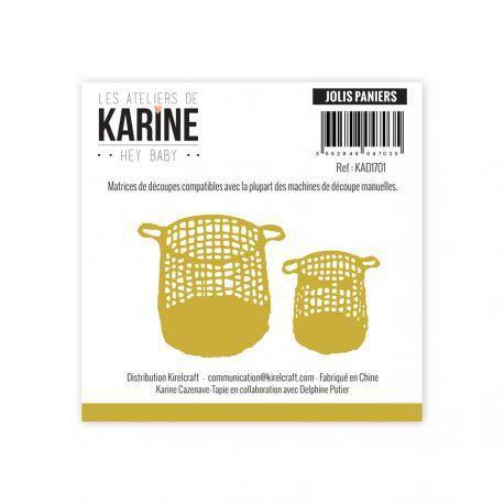 Kirelcraft Karine Dies - Hey Baby Jolis paniers