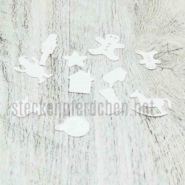Steckenpferdchenstanze Weihnachtsminis