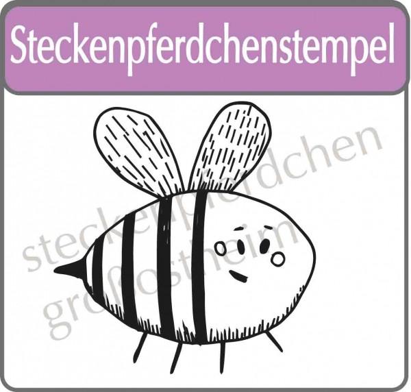 Steckenpferdchenstempel Biene Marie