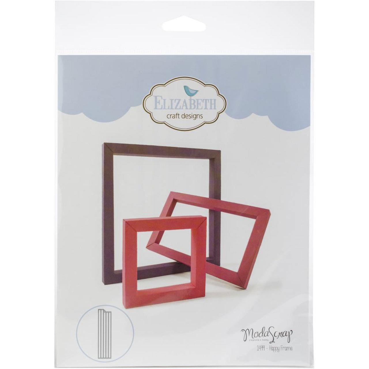 Moda Scrap Elizabeth craft design die Happy Frame | Stanzschablonen ...