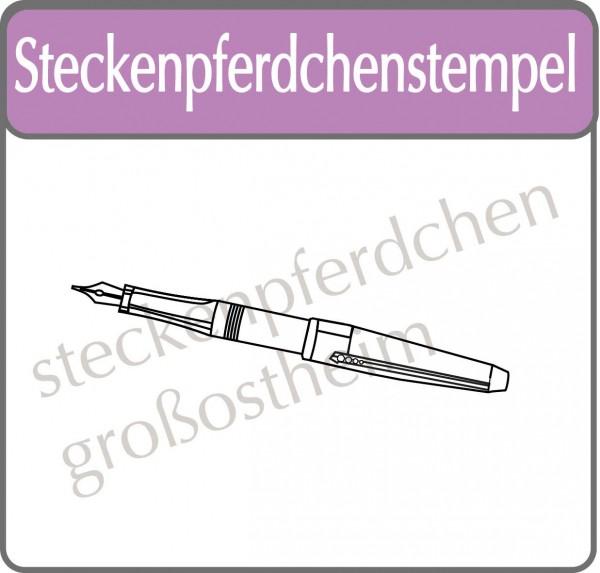 Steckenpferdchenstempel Füller