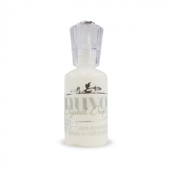Nuvo crystal drops simply white
