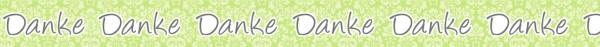 Ursus Masking Tape Danke grün