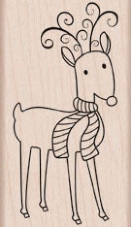Hero Arts - Holz Stempel - Fancy Reindeer