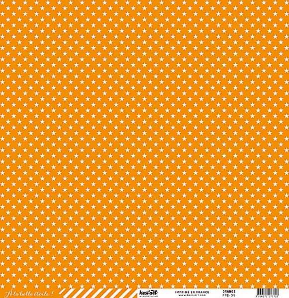 Kesi Art Ala belle etoile Sterne Orange