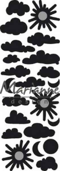 Marianne Design Craf Tables Stanzdies Sonne & Wolken