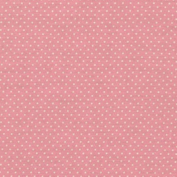 Baumwollstoff Tupfen Judith rosa