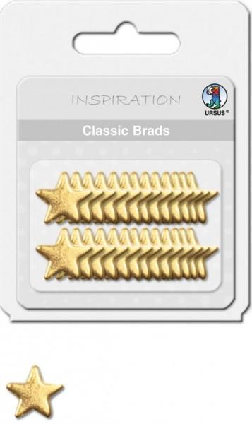 Ursus Basic Brads Sterne Gold
