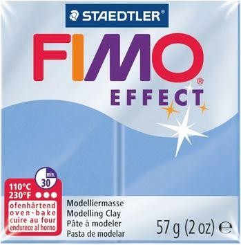 Fimo Effect blau-achat edelstein