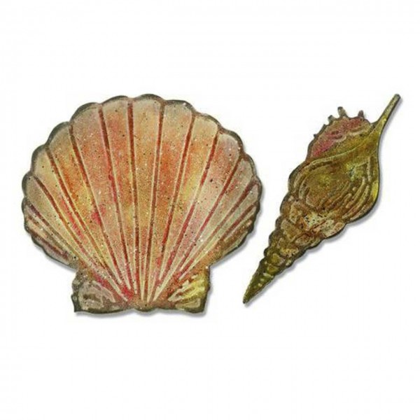 Tim Holtz Bigz / Embossing Folder Seashells