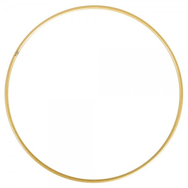 Rayher Metallring beschichtet gold 25 cm