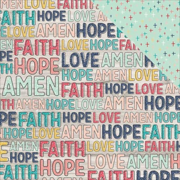 Simple Stories Faith believe