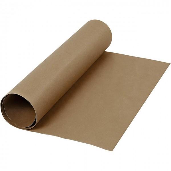 Kunstleder Papier dunkelbraun