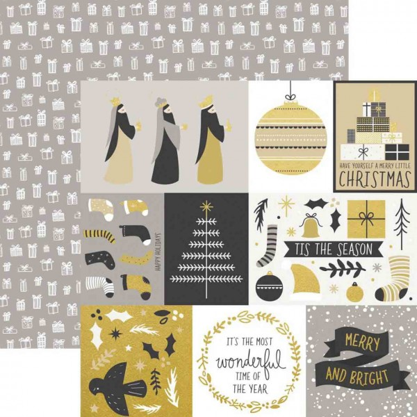 Kaiser Craft First Noel Collection starry