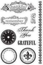 Teresa Collins - Giving Thanks - Clear Stamps