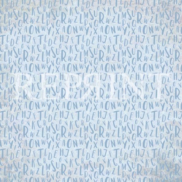 Reprint Little Boys - Alphabet Blue