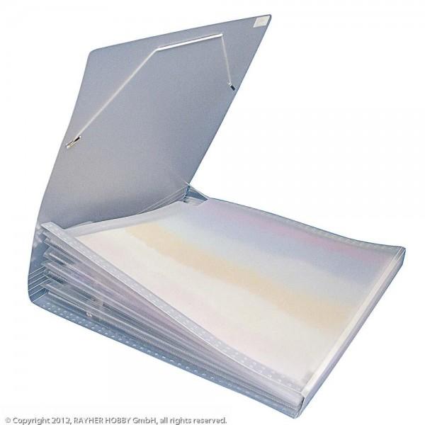 Fächertasche für Scrapbooking-Papiere
