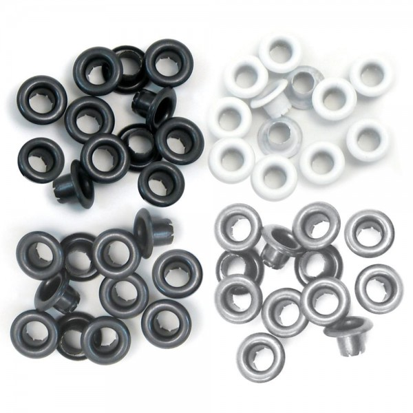We R Memory Keepers Standard grey Eyelets