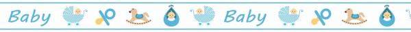 Ursus Masking Tape Baby blau