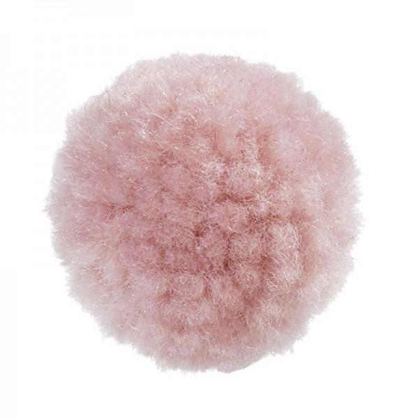 Pompons 20 mm puder-rosa