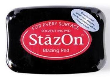 Stempelkissen StazOn Blazing Red