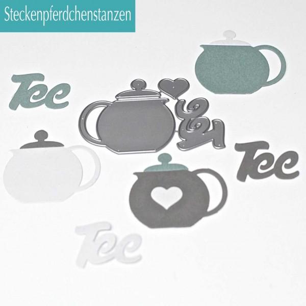 Steckenpferdchenstanze Teekanne