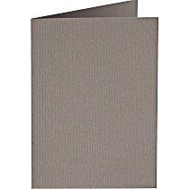 Papiocolor Doppelkarte B 6 mausgrau
