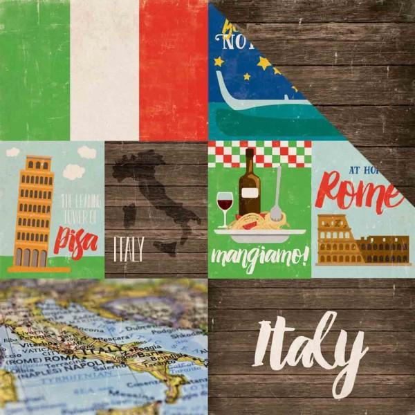Echo Park Paper arround the world Italy