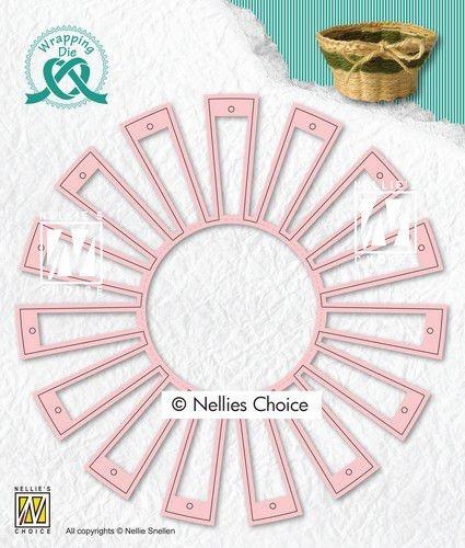 Nellies Choice Stanzdie - Easter basket