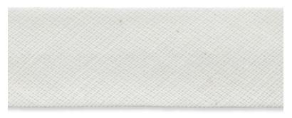 Baumwollschrägband creme