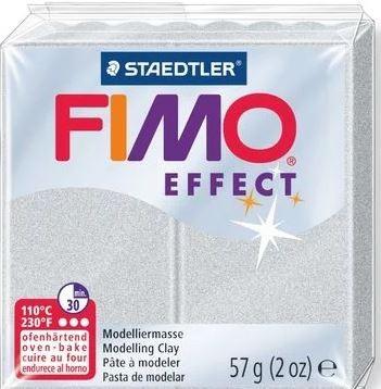 Fimo Effect pearl lichtsilber