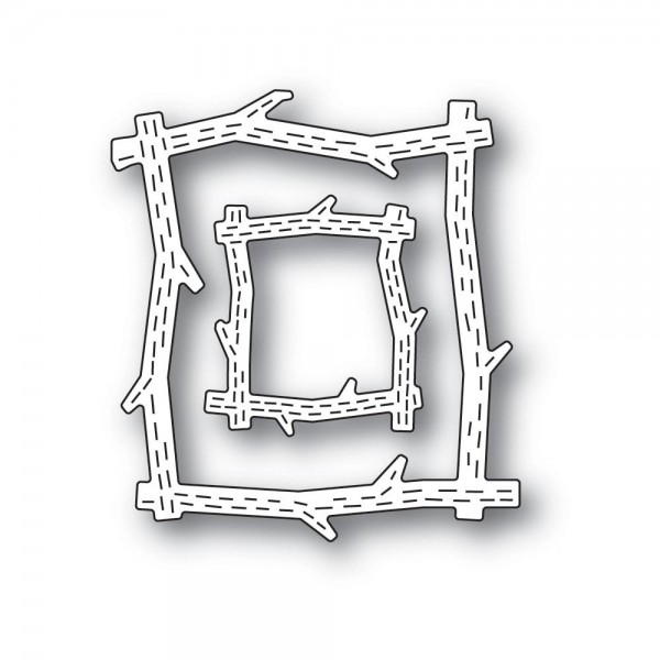 Poppystamps Stanzdie - Whittle Wood Picture Frames