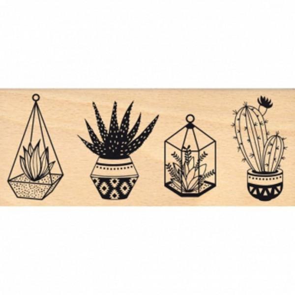 Florileges Holzstempel Petites plantes