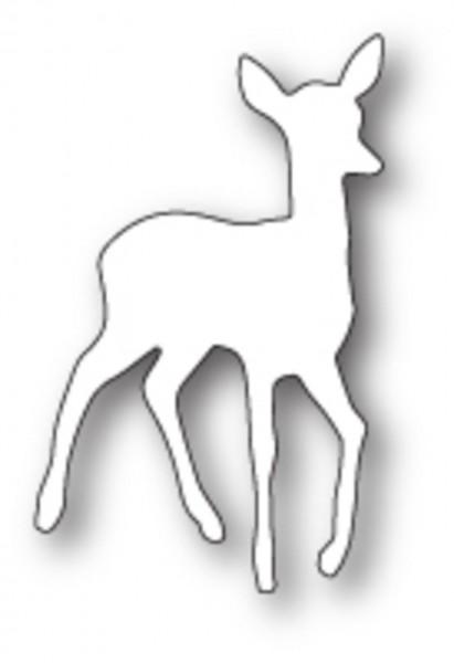 Poppystamps Stanzschablone tender Deer