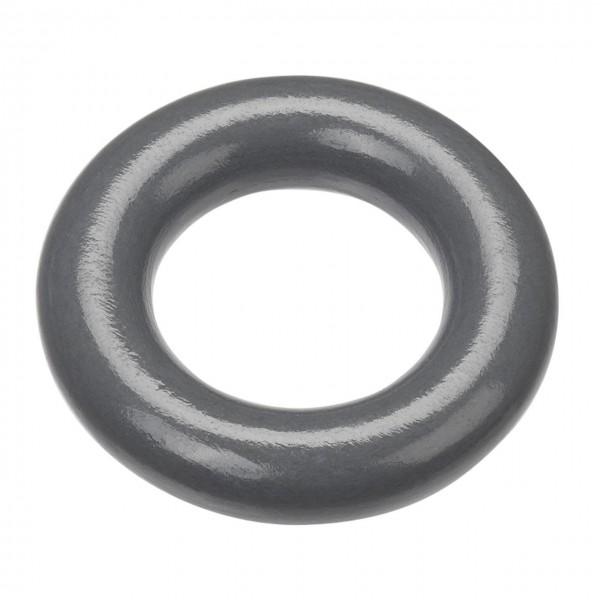 Schnulli-Holzring grau