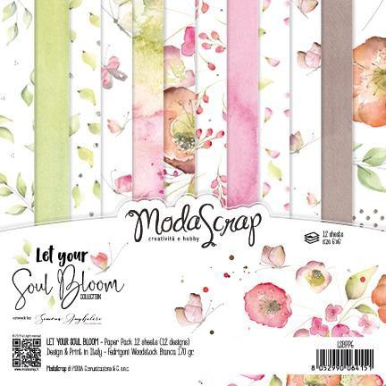 Moda Scrap Paper Pack - LET YOUR SOUL BLOOM