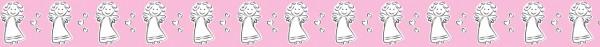 Ursus Masking Tape Schutzengel pink