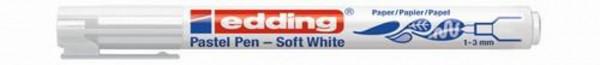 edding Pastel-Pen soft white