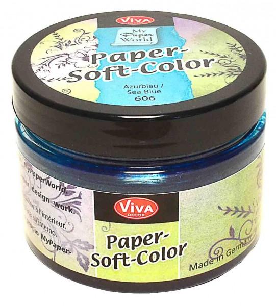 Viva Decor Paper Soft Color Azurblau