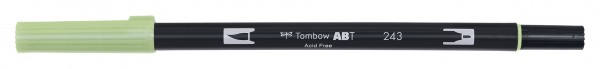 Tombow Dual Brush Pen - Mint - Minze