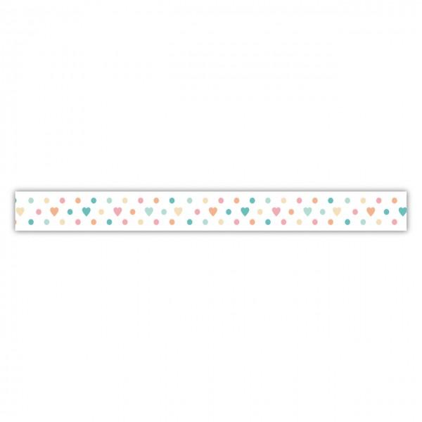 Rayher Washi Tape Punkte/Herzchen