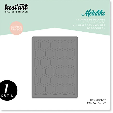 Kesi'art Metaliks Hexagones