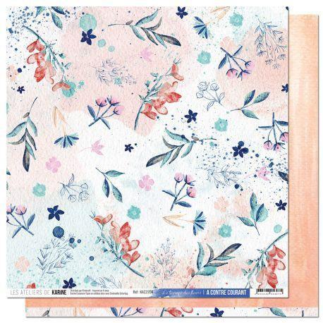 Les Atelier de Karine A Contre Courant - Le temmps des fleurs